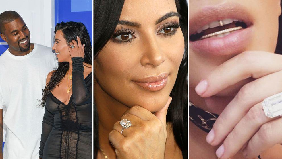Kim Kardashian är gift med rapparen Kanye West.