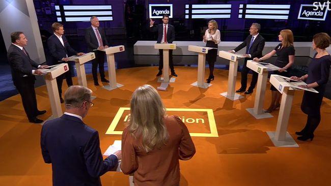 Partiledardebatt Debatt