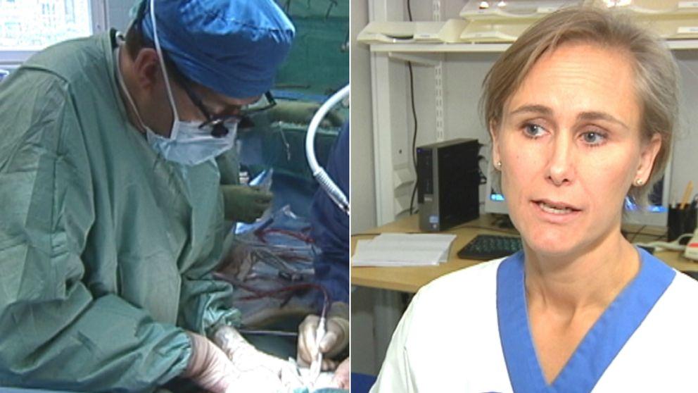 –På det sättet kan de få en andra chans, säger Helene Malm, chef för transplantationskirurgi på Akademiska sjukhuset.