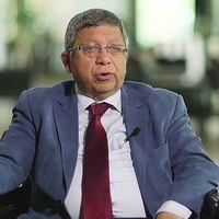 Ilnur Cevik, chefsrådgivare till Turkiets president Recep Tayyip Erdogan, intervjuas i Agenda.