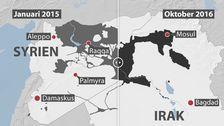 Terrorgruppen IS tappar mark