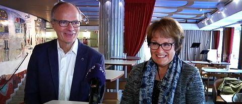 Steffen Weckner och Eva Tyskling