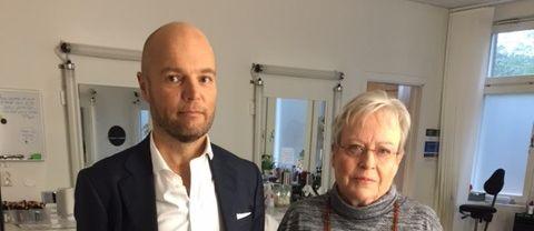 Yrsa Stenius Uutisten studiovieraana
