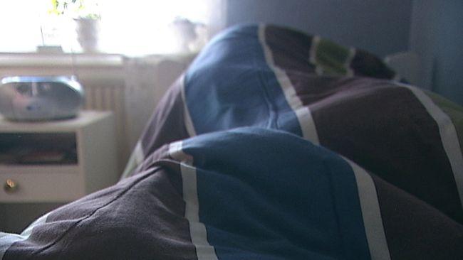 Interiör från sovrum