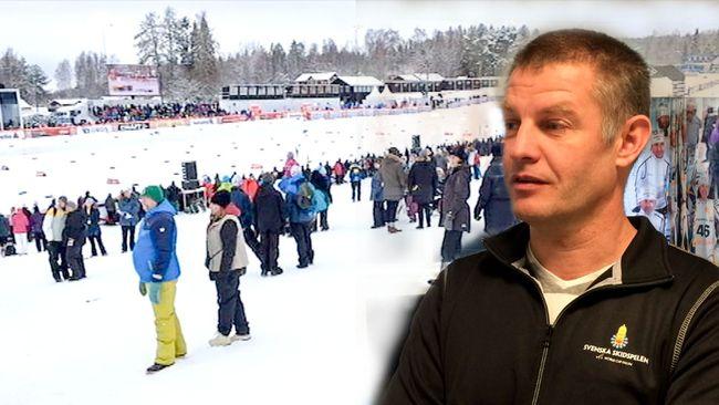 Jimmy Birklin är vd på Svenska Skidspelen