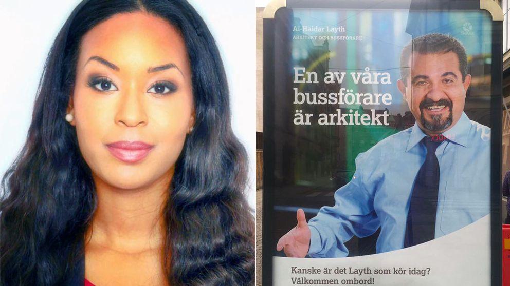 Skånetrafikens lokala reklamkampanj har fått kritik.