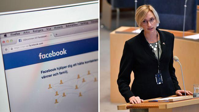 Facebook, Åsa Eriksson
