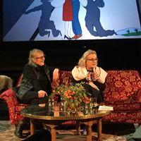 Marie-Louise Ekman och Marie Göranzon på scen