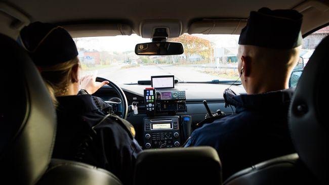 poliser, polisbil