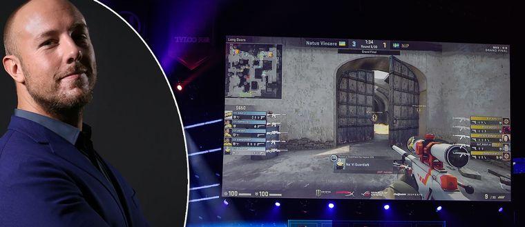 HeatoN är en ikonen inom e-sport och spelet Counterstrike som syns på bilden.