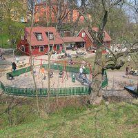 Blecktornsparken i Stockholm.