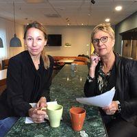 Mikaela Sonck ja Eija Sarinko