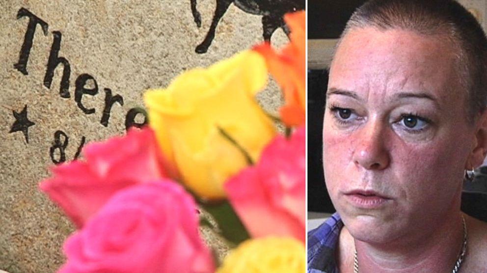 Marie Jonasson är ensam kvar efter att hennes två vänner har gått bort i bröstcancer.