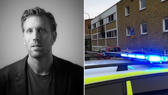 Michael Krona är skeptisk till uppgiften att IS låg bakom branden i Malmö.