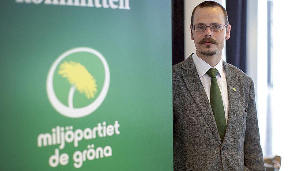 Max Andersson, europaparlamentariker för miljöpartiet.