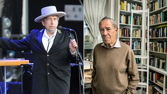 Bob Dylan and Pär Wästberg.