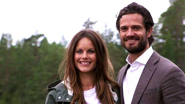Prins Carl-Philip och prinsessan Sofia.