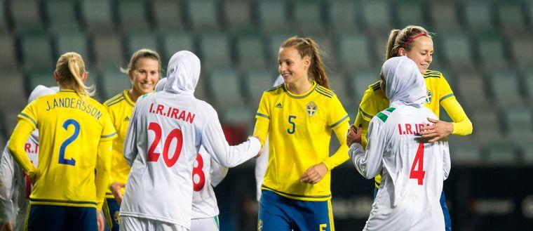 Sverige Iran Gamla Ullevi