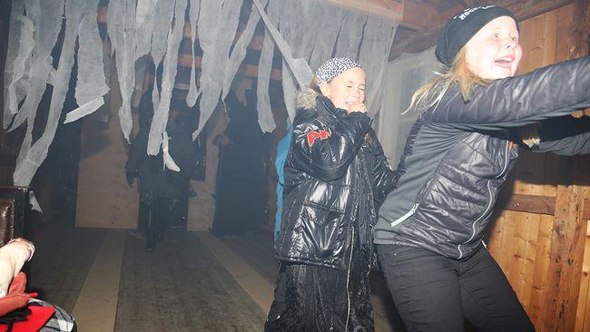 spökkväll på gammplatsen i Lycksele