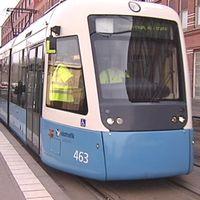 Spårvagn i Göteborg övningsvagn