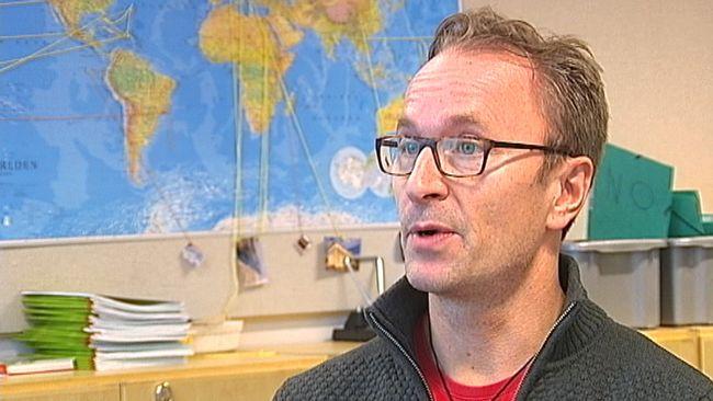 Niklas Norin är lärare på Sjöfruskolan i Umeå.