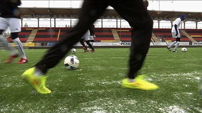 Ben på fotbollsspelare