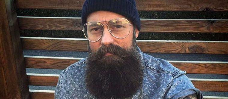Torbjörn Olofsson från Varberg har Sveriges näst snyggaste skägg.