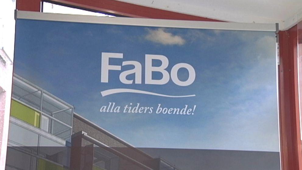 Fabo-skylt