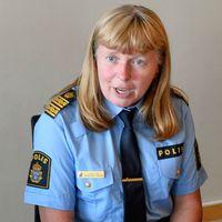 Lena Tysk, polischef i Västmanland.