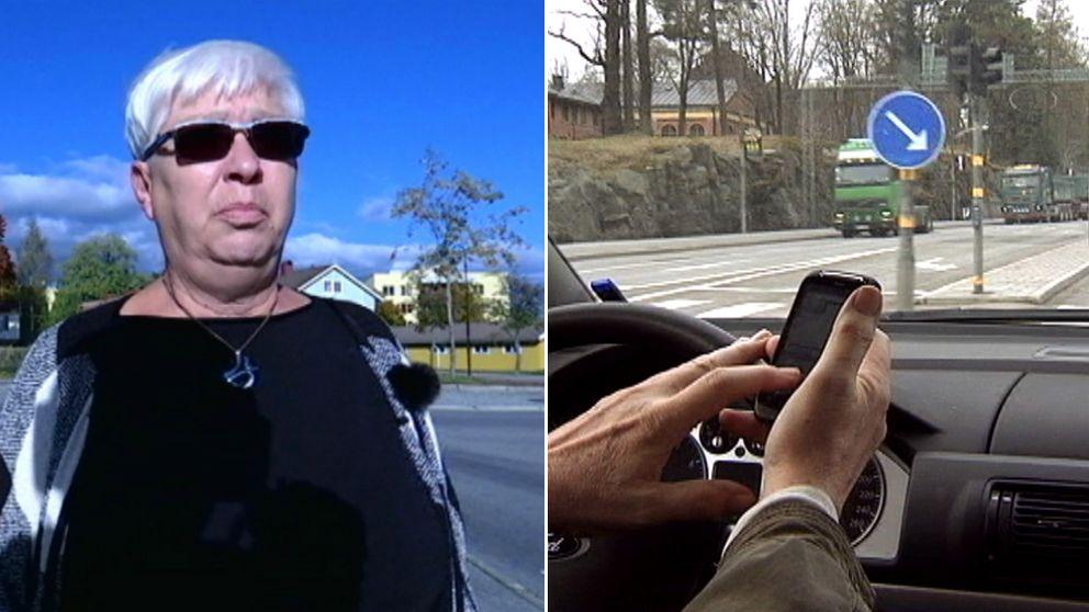 Efter olyckan har Elisabeth Pettersson från Gislaved svårt att gå.