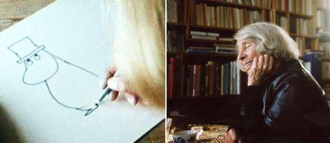 Mumintrollens skapare Tove Jansson.