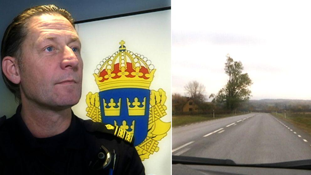 Thomas Blomdahl, vid polisen i Halland.