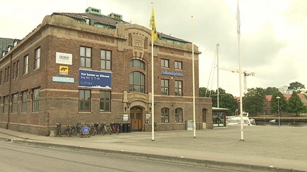 Hallandspostens lokaler i Halmstad.