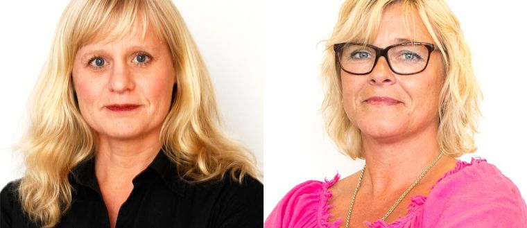 Åse Henell och Sarah Britz.