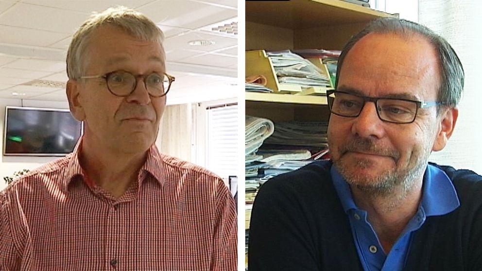 Peter Franke och Tommy Ernerudh