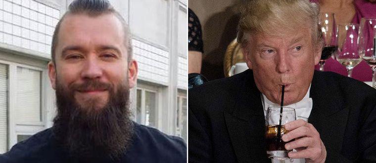 Tony Terho och Donald Trump