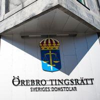 Emil Gherghel och Örebro tingsrätt i montage