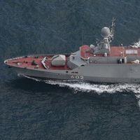 Den ryska korvetten Zeleny Dol.