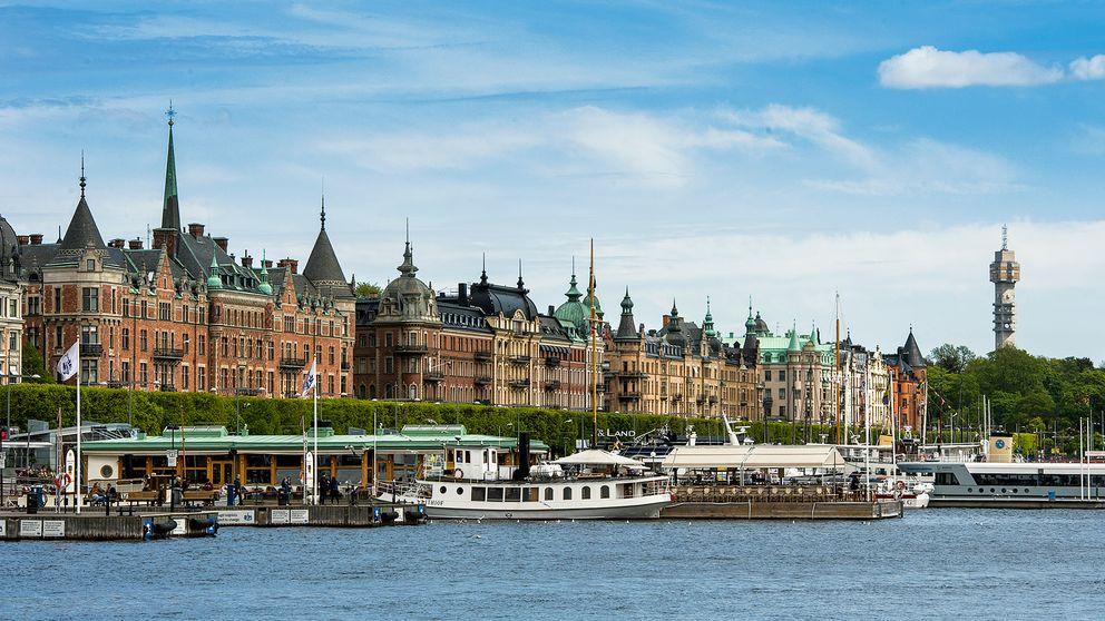 Strandvägen i Stockholm.