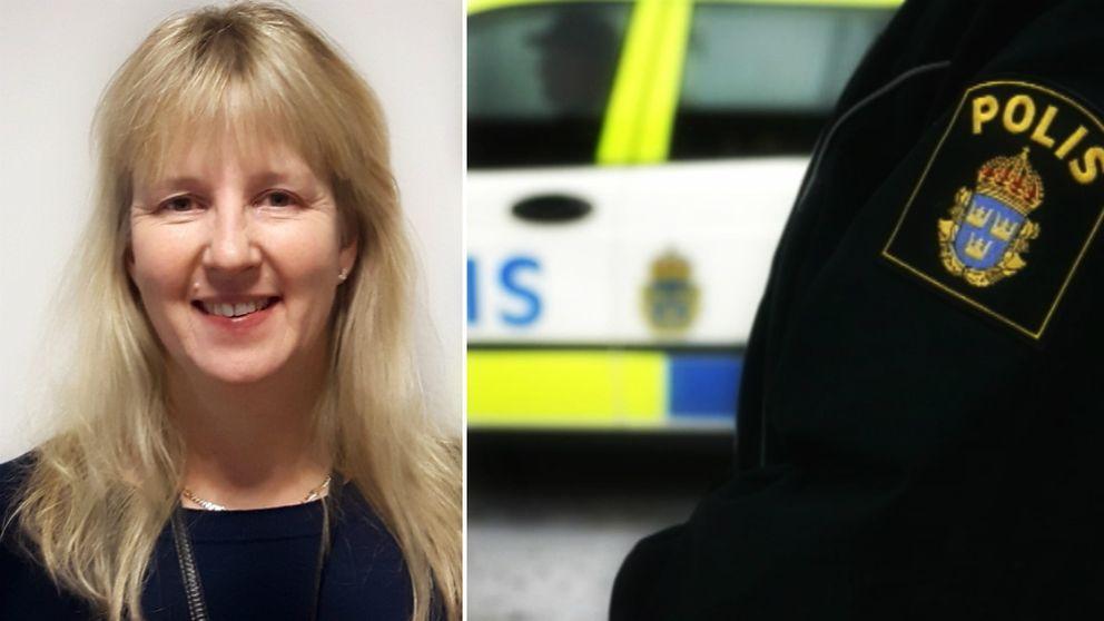 Eva-Karin Sigurdsson, civil utredare.