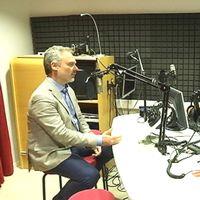 Under onsdagen fick Radio Fyris besök av Liberalernas partiledare Jan Björklund.