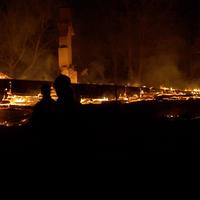 Brand i torp