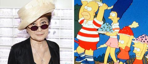 Yoko Ono och The Simpsons