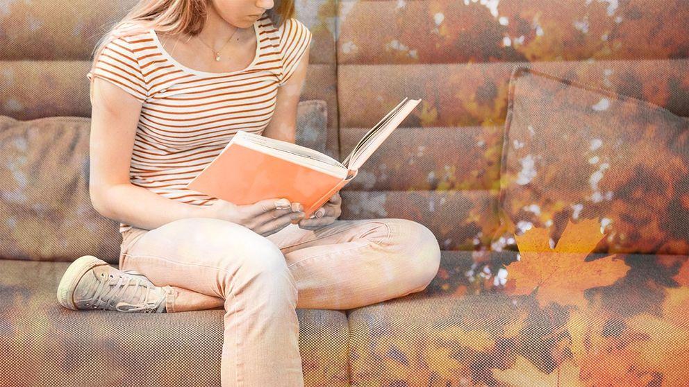 läsande ung person