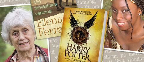 Många av ministrarna rekommenderar Harry Potter-böckerna till läslovet.