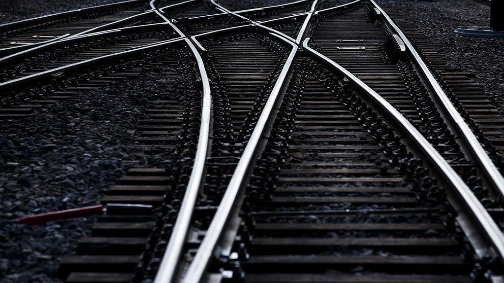 Det är stopp i tågtrafiken.