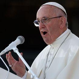 Påven Franciskus. Arkivbild.