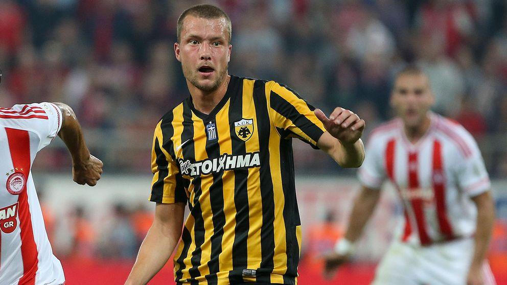 Jakob Johansson spelar till vardags i AEK Athen.