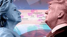 Här staterna som avgöra presidentvalet
