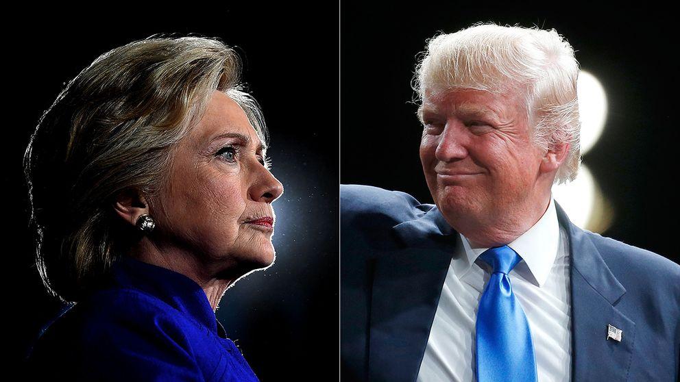Hillary Clinton och Donald Trump